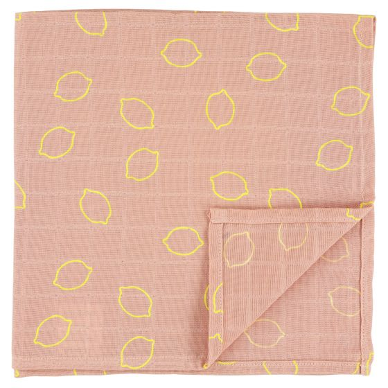Muslin cloths | 55 x 55 Lemon Squash