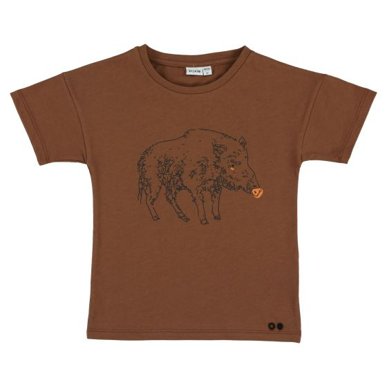 T-shirt short sleeves Truffle Pig