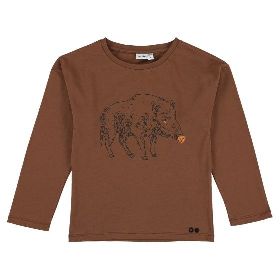 T-shirt long sleeves Truffle Pig