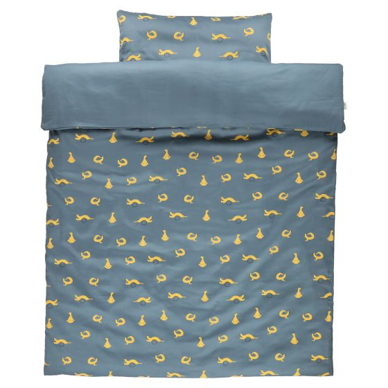 Crib duvet cover Whippy Weasel