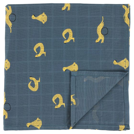 Muslin cloths | 110 x 110 Whippy Weasel