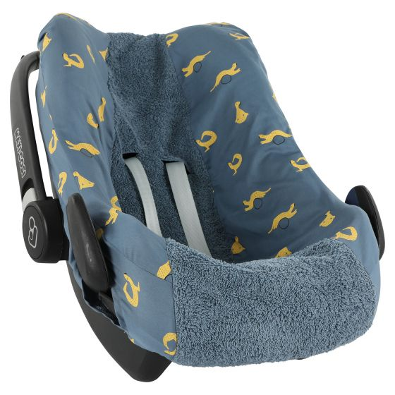 Car seat cover | Pebble Whippy Weasel