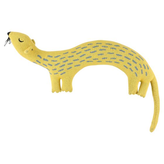 Knitted cuddle Whippy Weasel