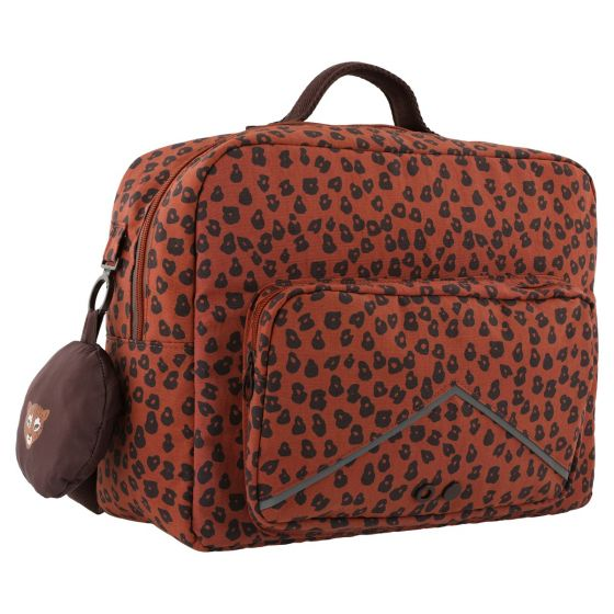 School satchel - Leopard