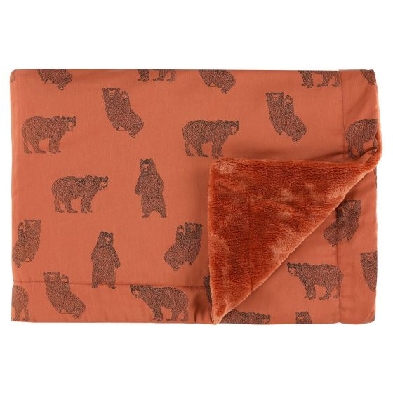 Fleece deken | 75 x 100 cm Brave Bear