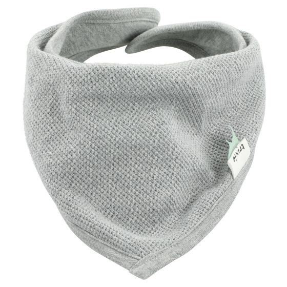 Bavoir bandana Grain Grey