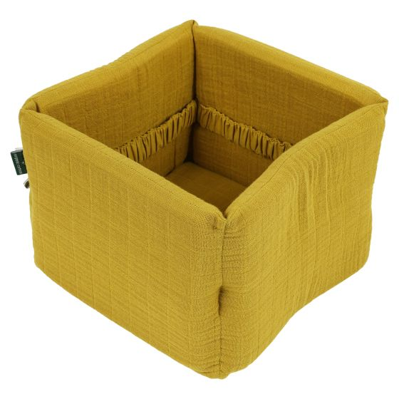 Nursery basket - Bliss Mustard