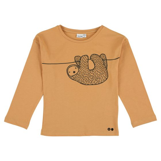 T-shirt long sleeves Silly Sloth